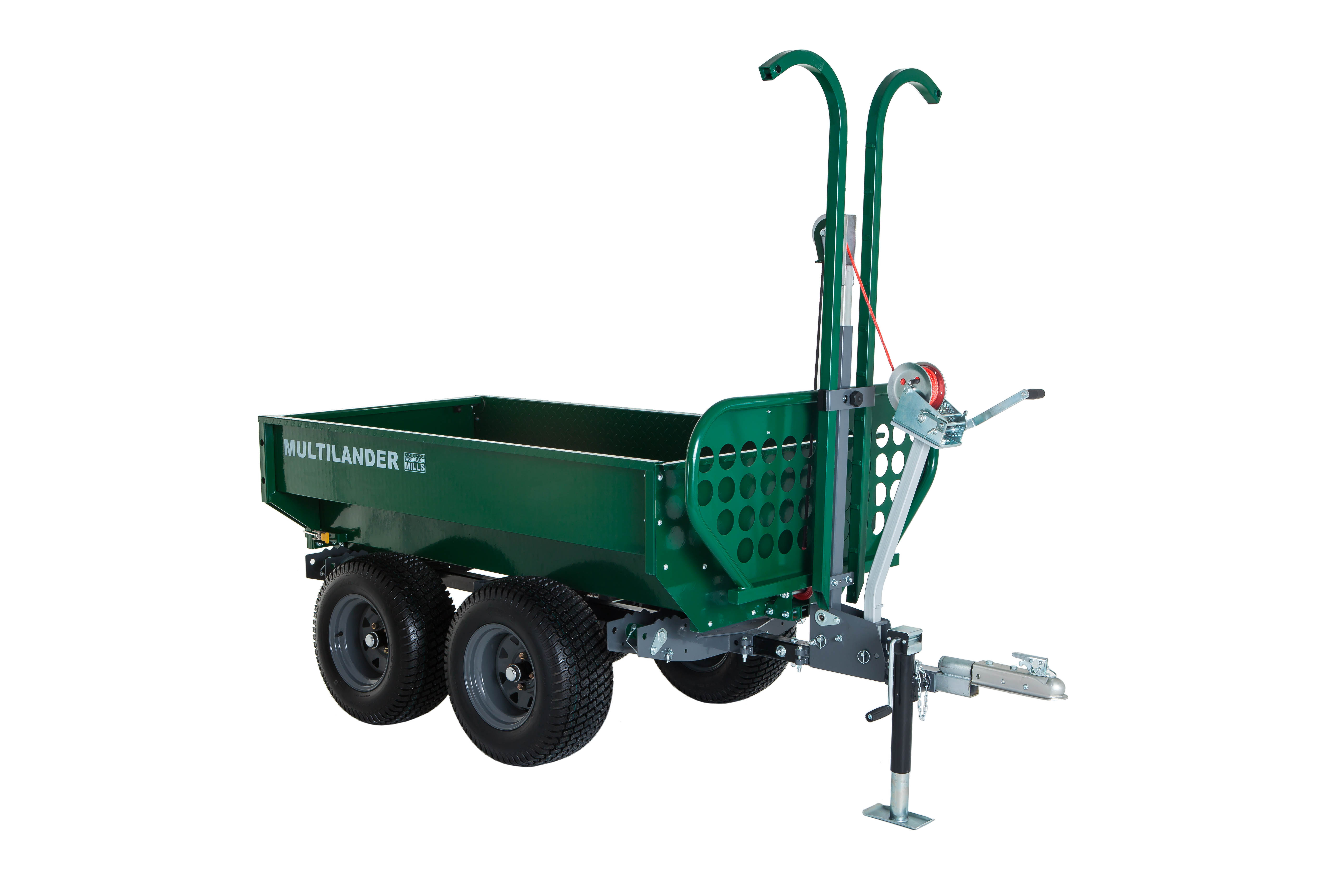 Pro Logging Trailer + Utility Dump Box