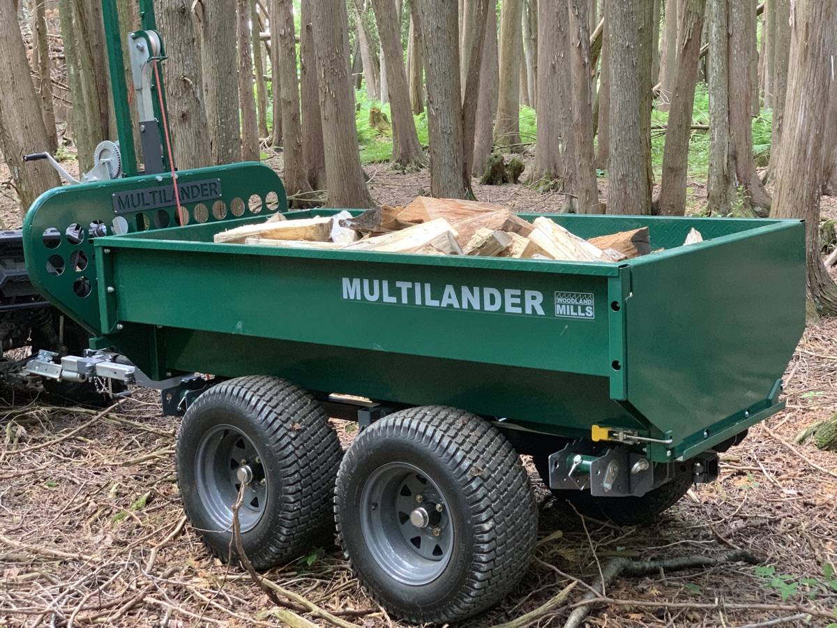 Multilander™ PRO Logging Trailer with Utility Dump Box