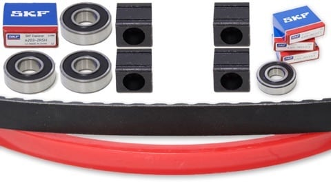 portable sawmill spare parts kit