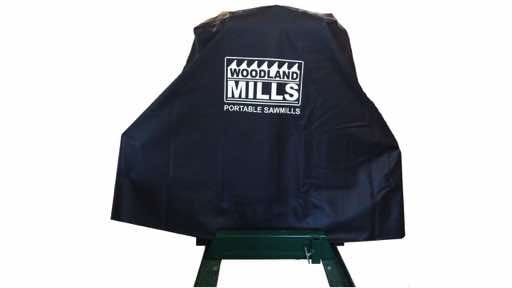 portable sawmill cover
