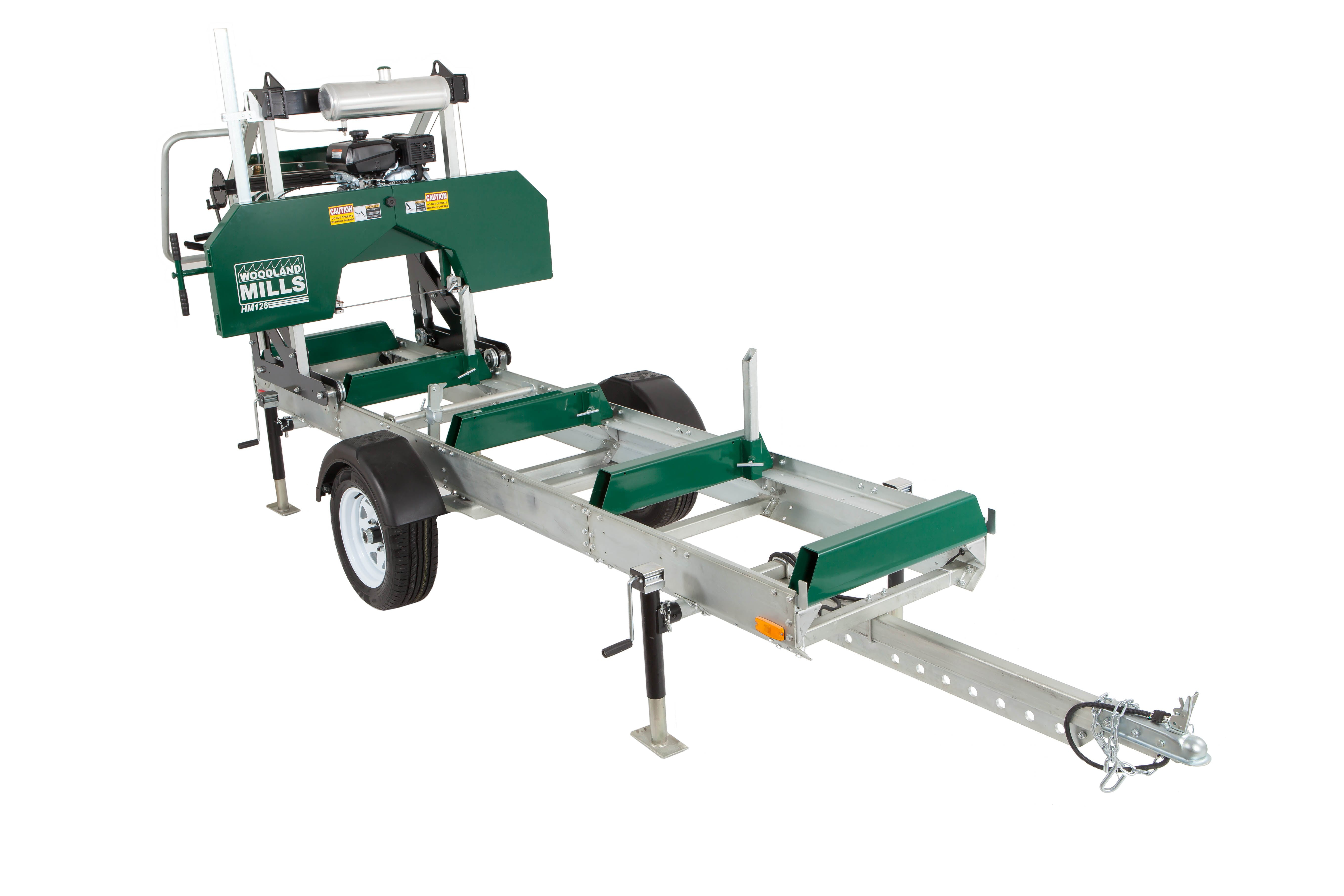 HM126 sawmill trailer package