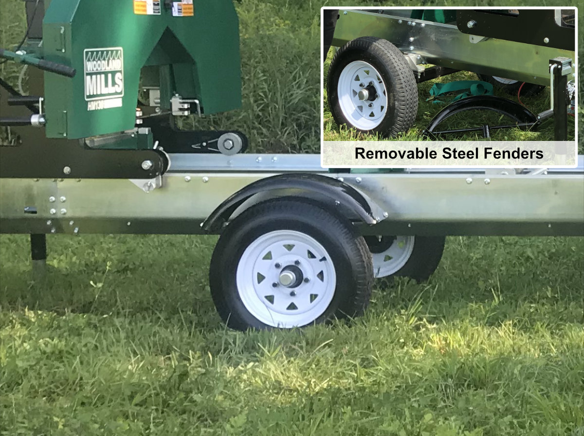Trailer Axles With Wheels : Woodland mills canada