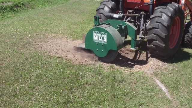 WG24 Stump Grinder Image 1