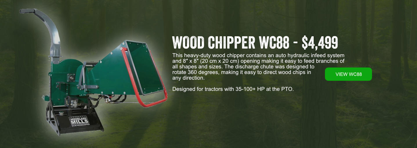Wood Chipper Banner