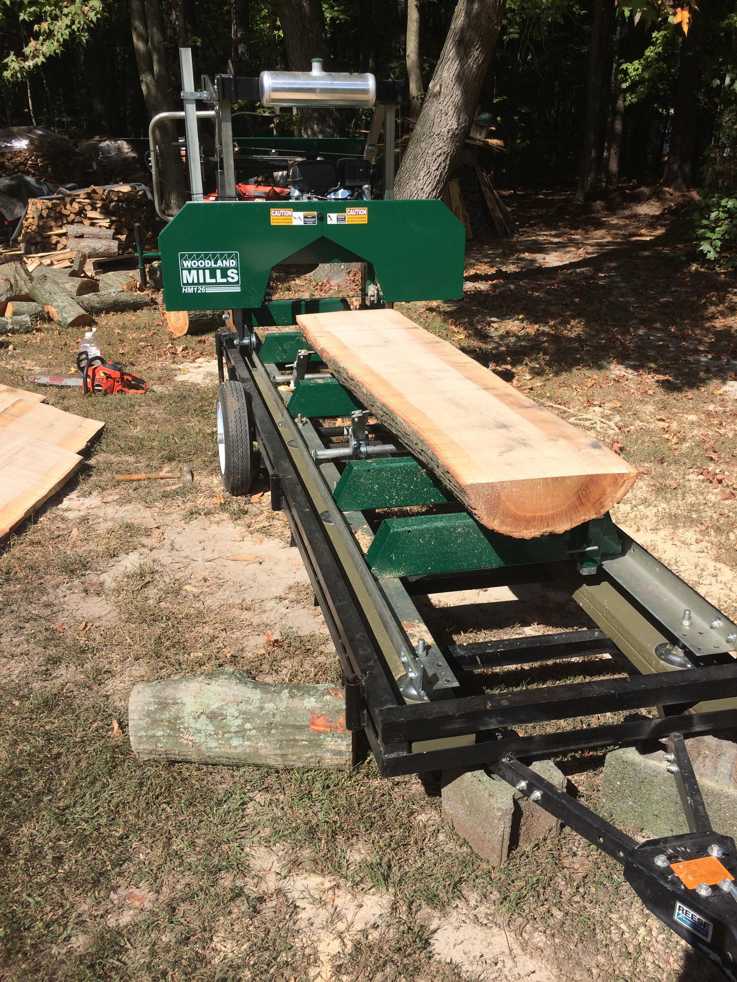 Portable Sawmill Reviews | Woodland Mills UK