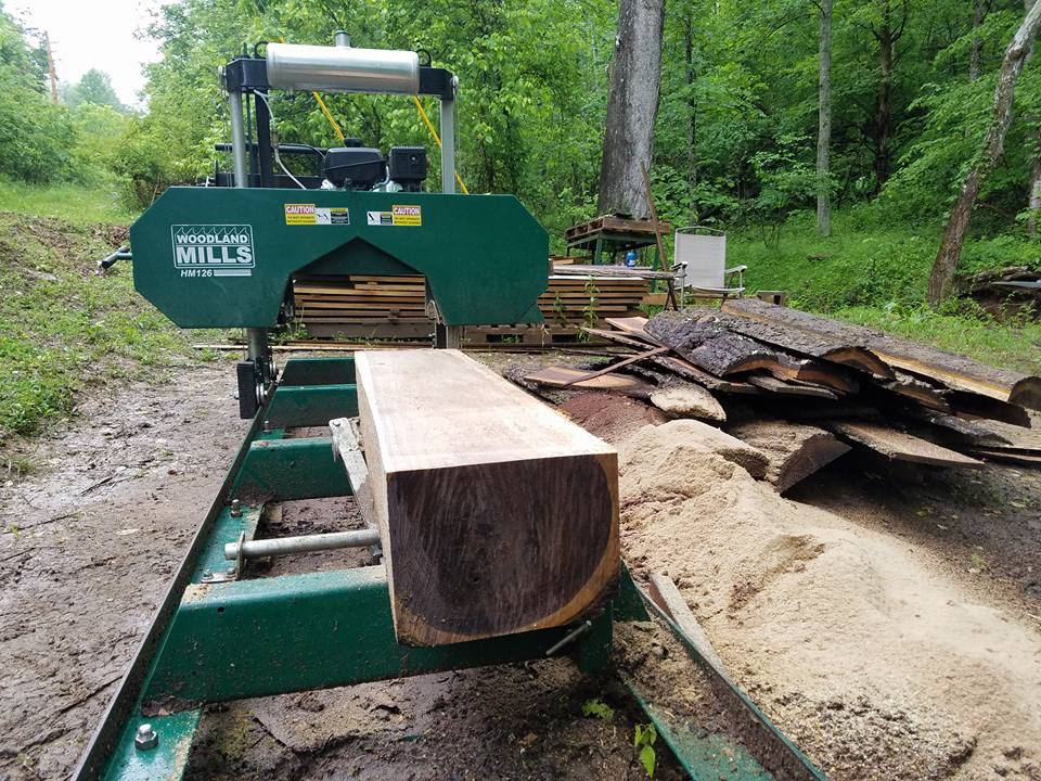 HM126 Portable Sawmill Reviews | Woodland Mills New Zealand